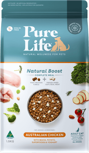 purelife adult cats chicken