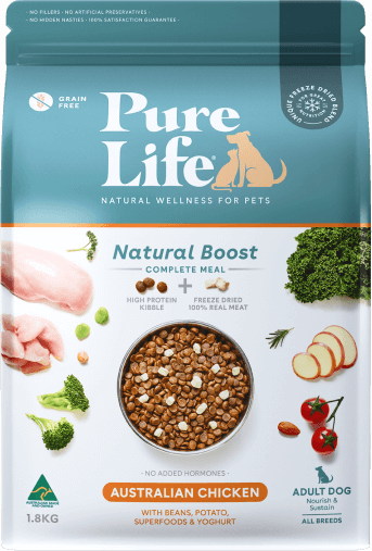 purelife adult dogs chicken