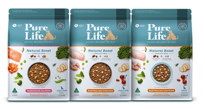 dog food range